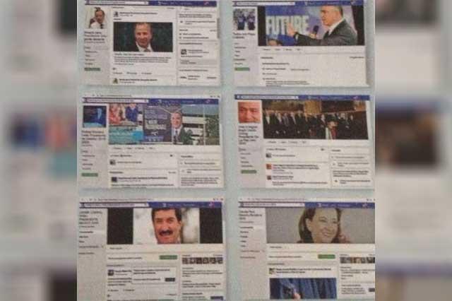 Gobernadores y funcionarios se promocionan en redes sociales