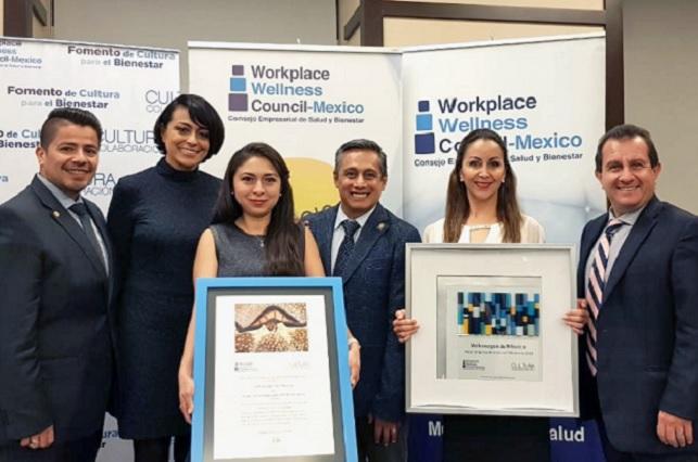 Reconocen a VW de México por promover salud de colaboradores