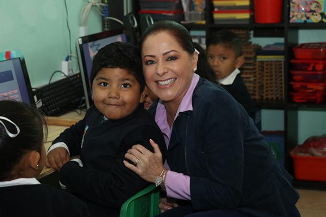 López de Gali promueve los valores en la primera infancia