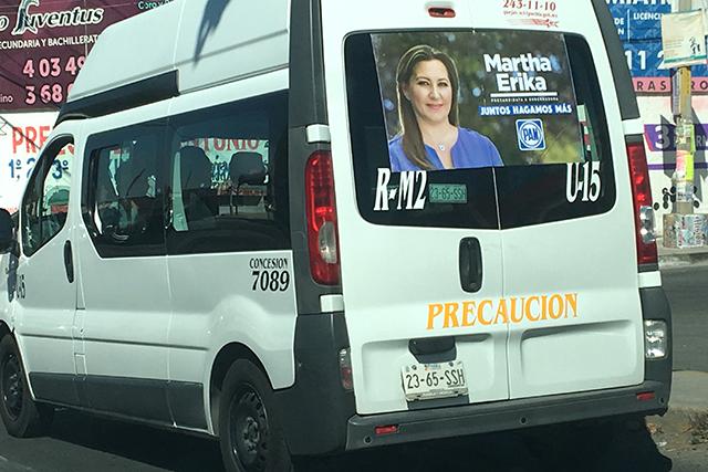 Exige Morena a IEE investigar propaganda de Martha Erika