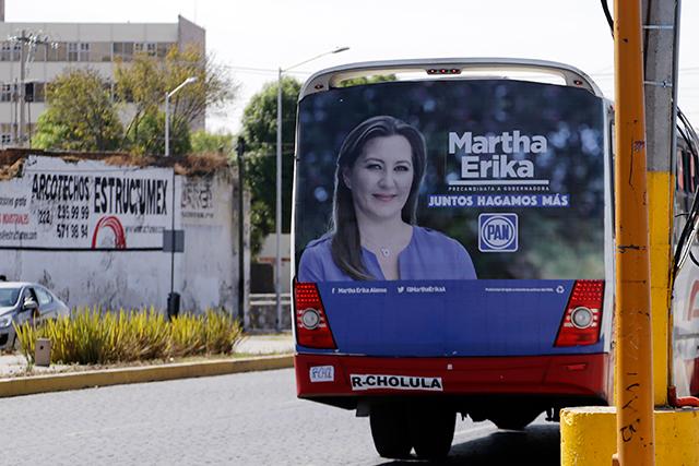 Morena denuncia a Martha Erika ante el INE por rebasar gastos