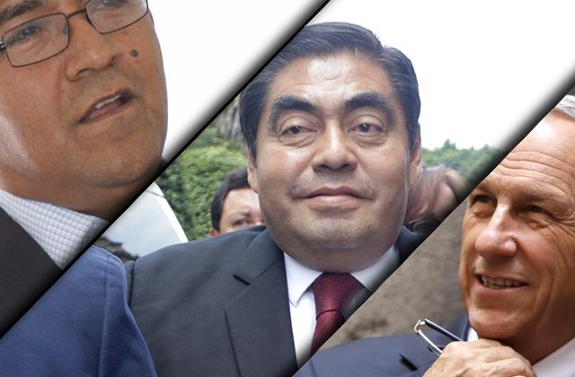 Estas son las propiedades de los 3 candidatos al gobierno de Puebla