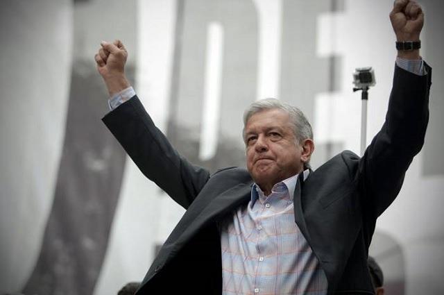 AMLO anuncia que cerrará campaña el 27 de junio en el Estadio Azteca