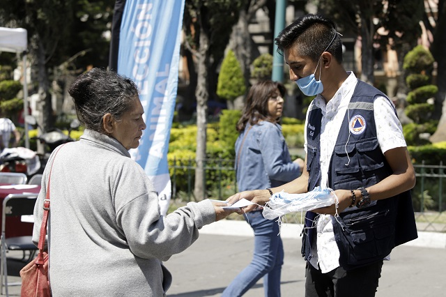 Reporta ligera actividad el Popocatépetl: Protección Civil
