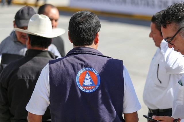 Refuerza Puebla prevención ante temporada de lluvias