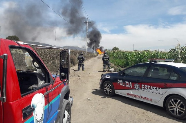 Explota toma clandestina en Palmar de Bravo y deja 6 heridos