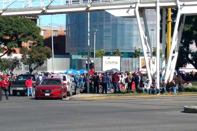 Protestas de Antorcha vuelven a desquiciar vialidades de Puebla