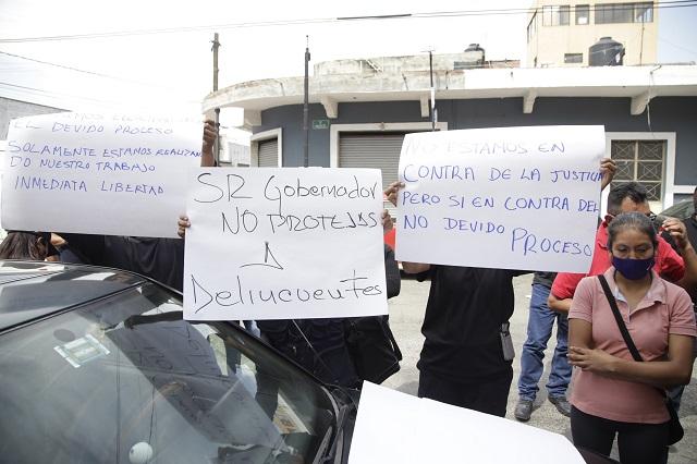 Ardelio Vargas atenderá protesta por custodios detenidos
