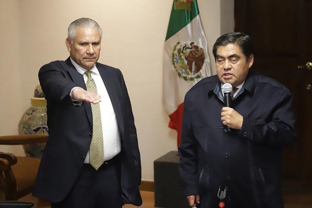 Llega Raciel López a SSP ante crisis por asesinatos