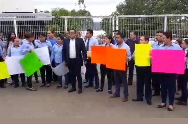 Denuncian presiones contra trabajadores del Tecnológico de V Carranza
