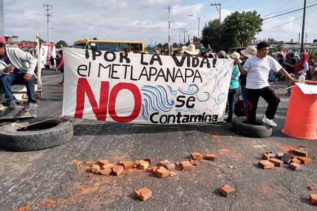 Quieren en Juan C. Bonilla revocar al alcalde por permisos de desagüe