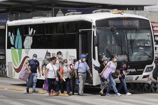 Transporte colectivo, el más usado para llegar al trabajo
