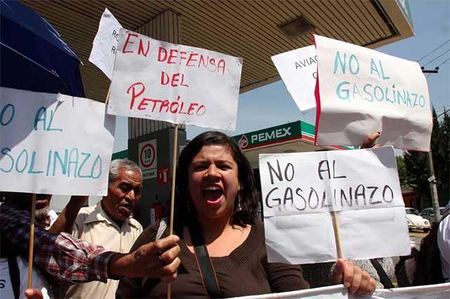 Por el gasolinazo, México padece la inflación más alta desde hace 18 años