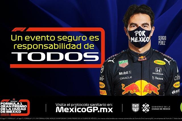 F1: Así será el protocolo sanitario para el Gran Premio de México