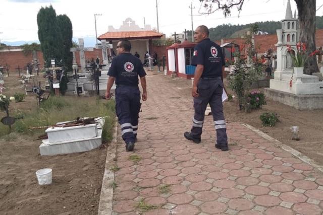 Activan en municipios protocolos de prevención por Día de muertos