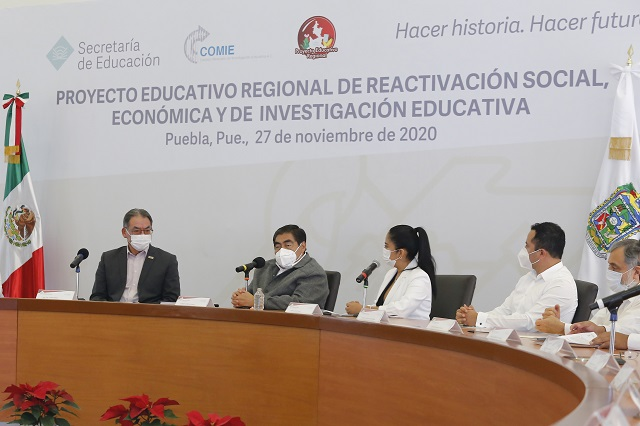 Asiste Barbosa a presentación de proyecto educativo regional