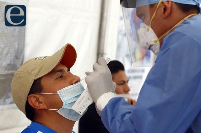 Ubican en Puebla 11 contagios con nuevas variantes de Covid