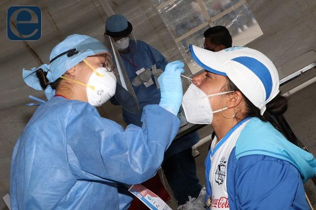 Ante avance de Covid aprietan medidas de prevención en Puebla