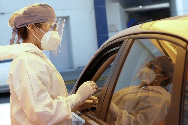 Puebla atendió a 765 pacientes Covid de otros 22 estados