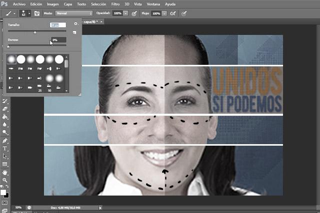 Se pasan de… photoshop los candidatos del Frente en Puebla