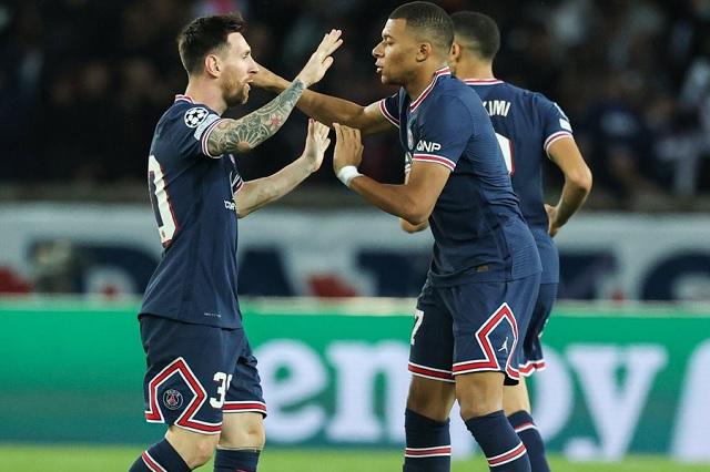 Show de Messi y Mbappé le da la victoria al PSG en Champions