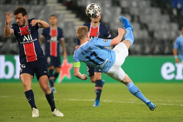 Manchester City se impone al PSG en semifinales de Champions
