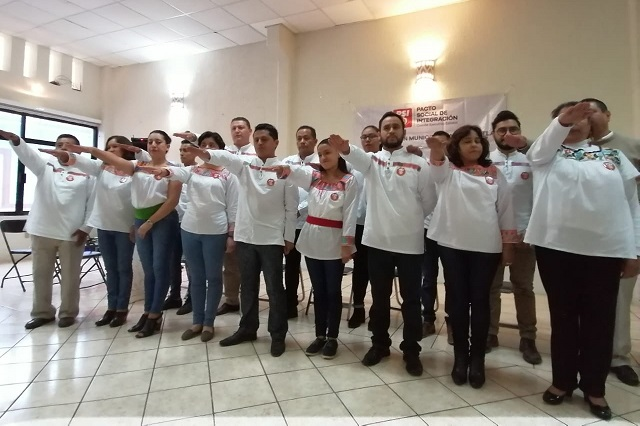 Conforman coordinación del PSI en Zacapoaxtla