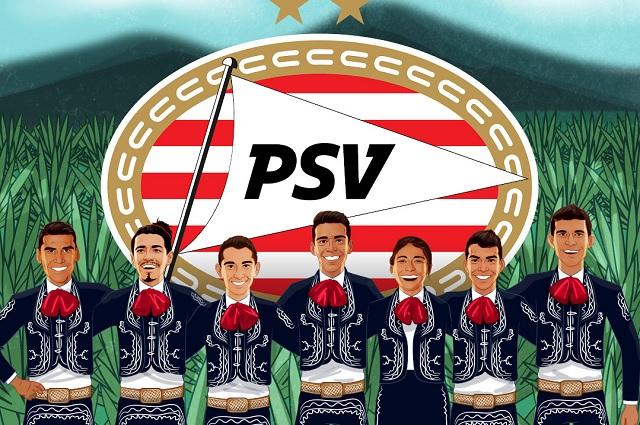 PSV presume ser 'El club más mexicano de Europa'