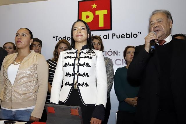 Se alinean con Barbosa diputados del PT que apoyaban a Armenta