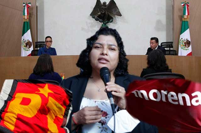 Confirman multa a Morena y PT por campaña de Karina Pérez