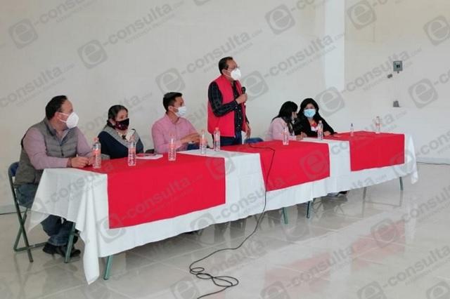 PT y MORENA tendrán candidato de unidad en Zacapoaxtla