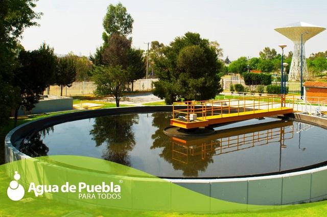 Agua de Puebla sanea 2,146 litros de aguas residuales por segundo