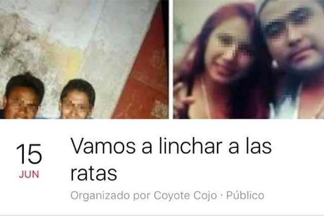 Borran convocatoria en Facebook para linchar a presuntos ladrones