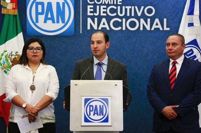 Velázquez era el candidato del PAN, pero declinó por Cárdenas