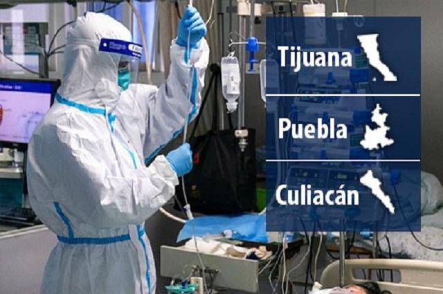Puebla, entre los 3 municipios con más contagios del país: UNAM