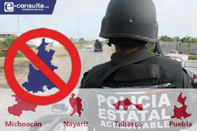 Impide SSP Puebla encuestar a policías sobre su situación laboral
