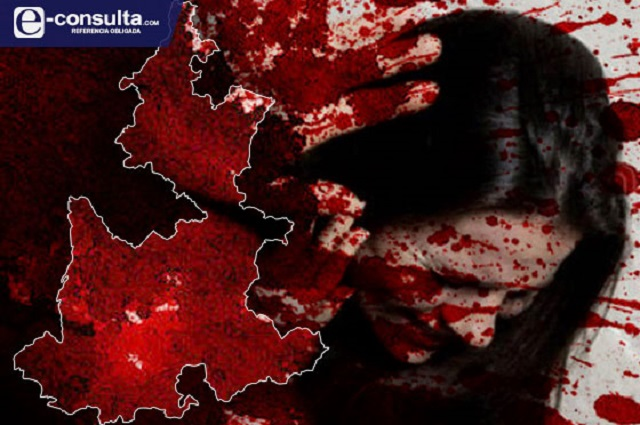 Puebla se tiñe de rojo por ola de feminicidios