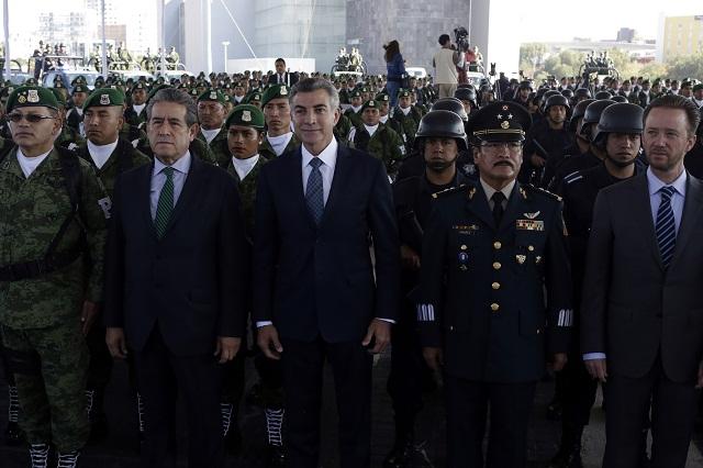 Llegan 500 policías militares a la zona del Triángulo Rojo
