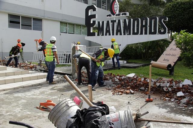 Va al 70% programa nacional de reconstrucción, reportan