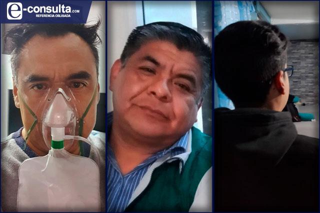 Puebla, un año enfermo de Covid; tres sobrevivientes nos cuentan su historia