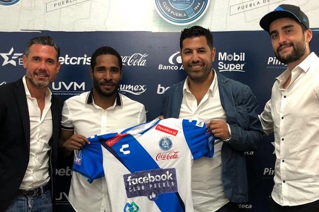 Estoy contento, no hay duda de querer seguir con el Puebla: Brayan Angulo