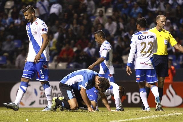 El Puebla deja ir la victoria ante el Racing de Argentina