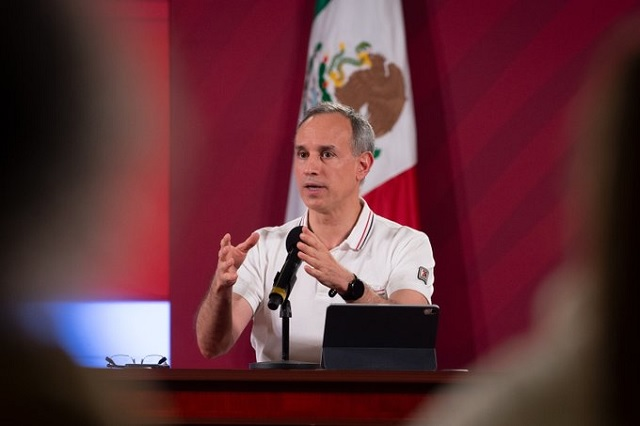 Registran primera baja en tasa de contagios por Covid en Puebla