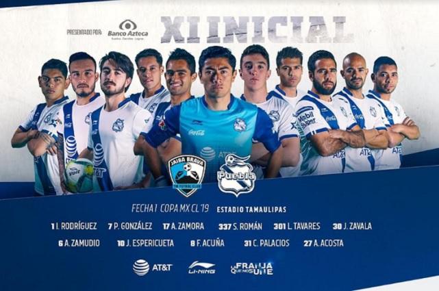 Puebla debuta con derrota en el primer partido de Copa MX