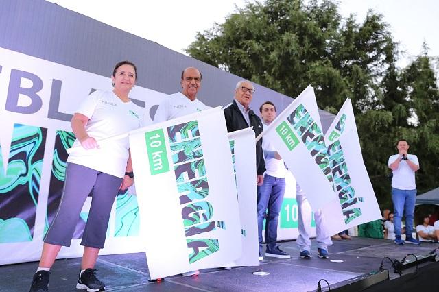 Más de 6 mil participan en la Carrera Puebla Es Energía 10 km