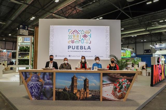 Puebla es presentado internacionalmente como destino seguro