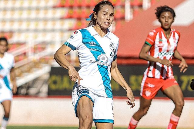 Cae Puebla Femenil ante Necaxa y liga segunda derrota consecutiva