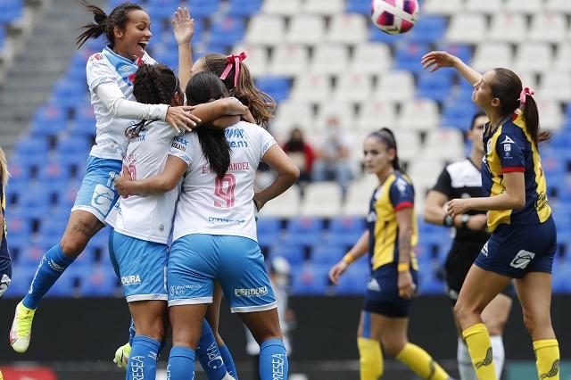 Puebla Femenil rescata el empate ante San Luis