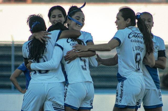 Puebla femenil se impone a Cruz Azul tras 2 meses de no ganar