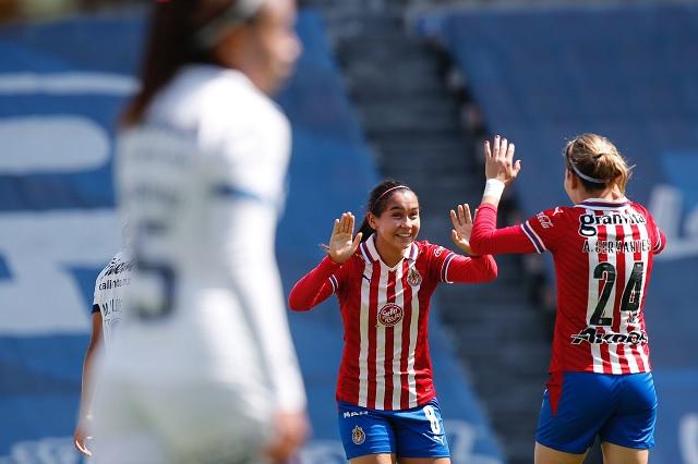 En casa y por goleada: Puebla femenil cae 0-5 ante Chivas